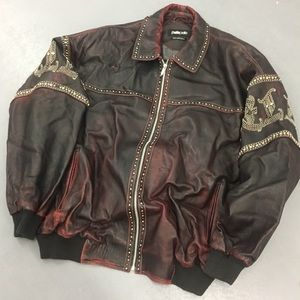 PELLE PELLE leather jacket Marc Buchanan
